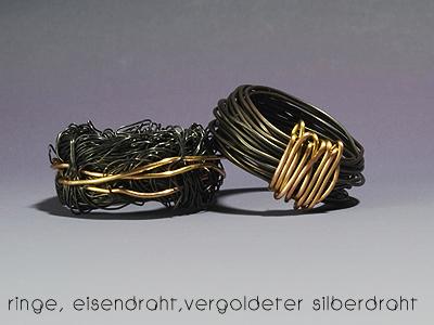 Großartig Draht Schmuck Ringe Bilder - Elektrische ...